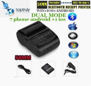 58mm Mini Portable Receipt Thermal Printer