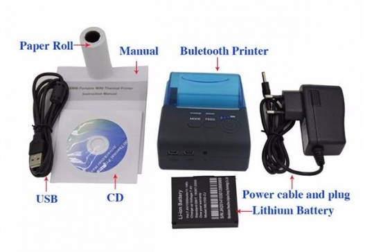 new Pos-5805LD Android Wireless Printer