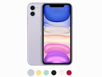 New Chinese Version dual sim iPhone 11 6.1 inch Full OLED Display 4G LTE Dual-camera Smart Phone 64/128/256gb ROM A13
